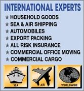 overseas moving companies